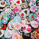 Mixed Fabric Badge Pack