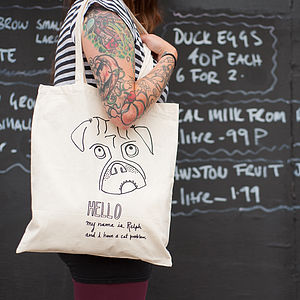 '…I Have A Cat Problem' Long Handle Tote Bag