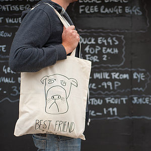 'Best Friend Forever?' Long Handle Tote Bag - summer sale