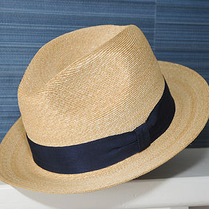 Raffles Panama Hat - hats, scarves & gloves