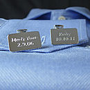 Engraved Solid Silver Cufflinks