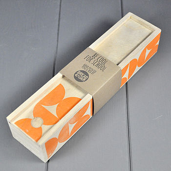 YoYo Design Wooden Pencil Case