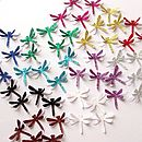 3D Glitter Dragonfly Table Confetti