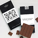 'Fifty Shades Of Grey' Chocolate Bar
