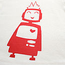 Robot Organic Cotton Baby T Shirt