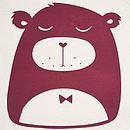 Grumpy Bear Organic Cotton T Shirt