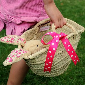 Child's Woven Basket - bags, purses & wallets