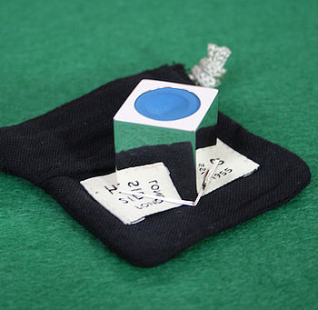 Personalised Silver Snooker Chalk Holder
