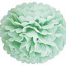 Decorative Paper Pom Pom