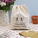 Personalised Garden Storage Bag