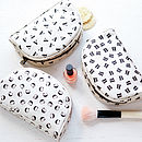 Initial Make Up Bag