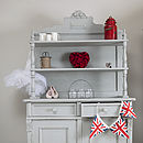 Vintage Hand Painted Cupboard