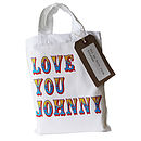 Love you custom gift bag