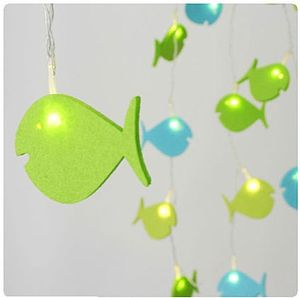 Child's Felt Fairy String Lights - lighting