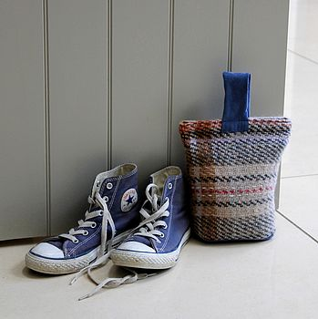 Recycled Wool Doorstop