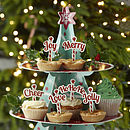 Christmas Mince Pie Or Cupcake Decorations