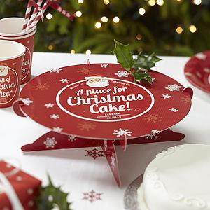 Christmas Cake Stand - christmas parties & entertaining