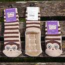 Sticky Monkey Socks