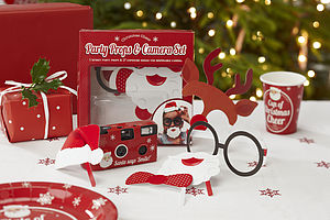 Christmas Photo Booth And Camera Pack Game - little party extras