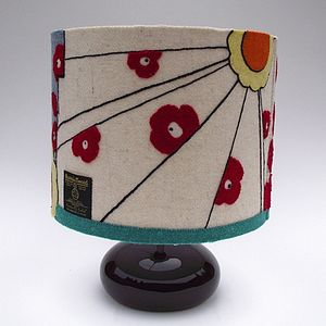 Clarice Harris Tweed Lampshade - lighting