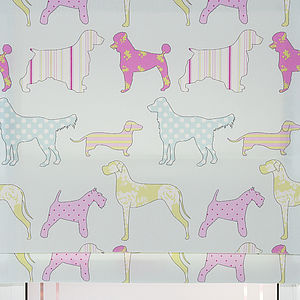 Pooch Roman Blind - soft furnishings