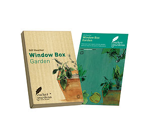 Window Box Garden Gift Voucher - gardening