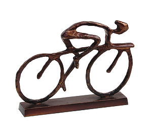 Cyclist Sculpture - gifts for cyclists