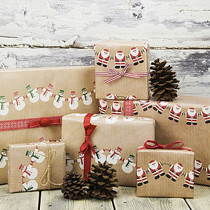 Christmas Character Wrapping Paper - cards & wrap