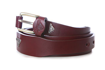 Torrington Handmade Tapered Leather Belt