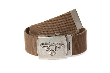 Cotton Canvas Handmade Belt S
