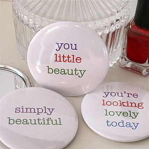 Feel Good Pocket Mirror - wedding favours