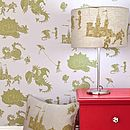 ''Ere be dragons' Grey-Lilac Dragon Wallpaper