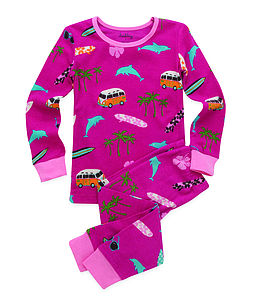 Surfer Girl Long Pyjamas