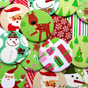 ''Christmas Mirrors'' Stocking Fillers