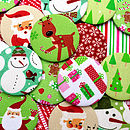 10 X Christmas Party Bag Filler Mirrors
