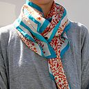 Small Girl: Rob Ryan Large Silk Square