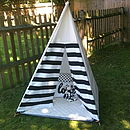 Play Teepee With Mat