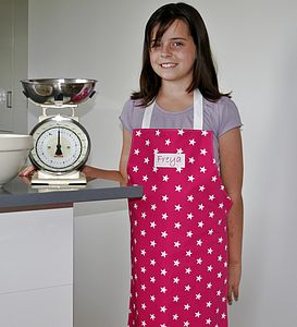 Personalised Child's Apron - kitchen