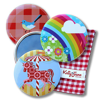 Girls Compact Mirror