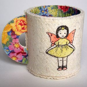 Tinkerbell Harris Tweed Decorative Cup - ornaments