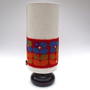 Hornsea Harris Tweed Lampshade - lighting