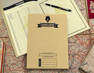 Travelogue - gifts for travel-lovers