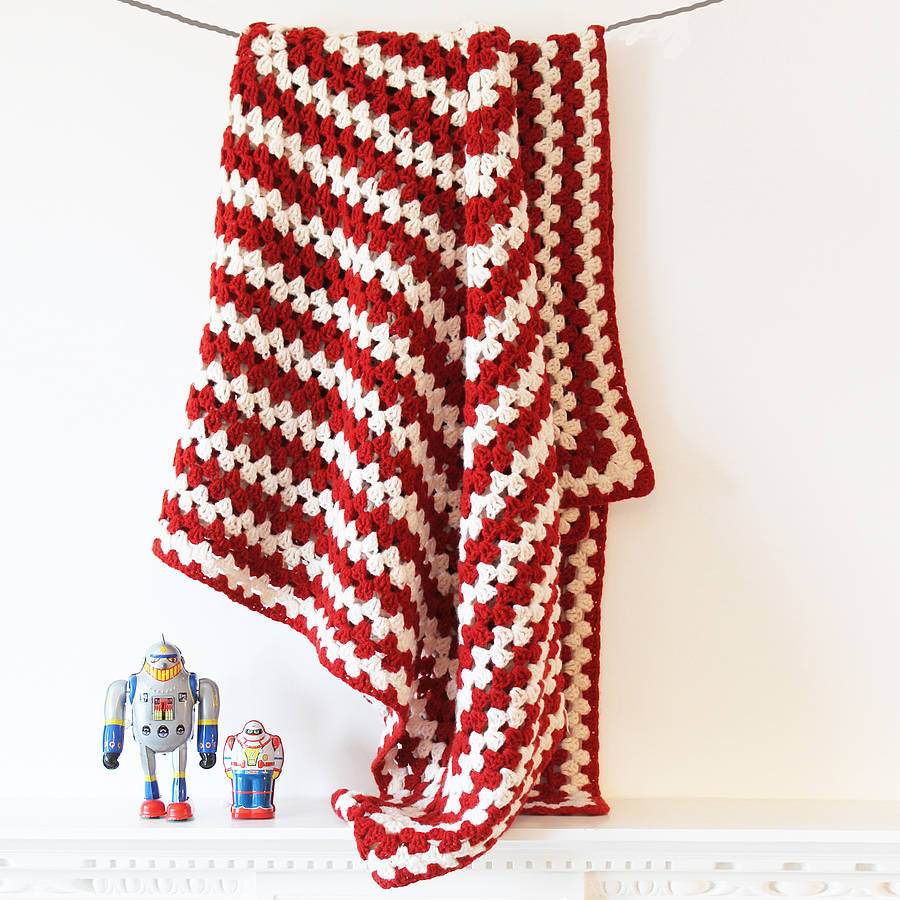 How To Crochet Numbers : lambswool crochet blanket number two by rocket and bear ...