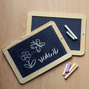 Traditional Slate Chalkboard - stocking fillers