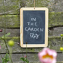 Traditional Slate Chalkboard