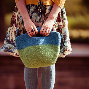 Felt Bag Knitting Kit - bags & purses