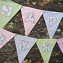 Girls Happy Birthday Bunting