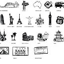 'Story Of Us' Landmark Icons