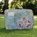 Vintage Wedding Post Box Suitcase