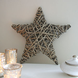 Wicker Star - decorative accessories